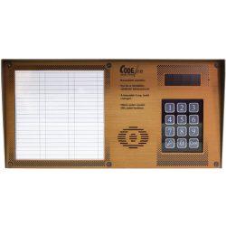 Codefon 800 + Proximity Falon Kív   3 Oszl  Fekvő Új Társasházi Audio Kaputelefon