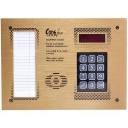 Codefon 800 + Proximity Sülly   1 Oszl  Fekvő Új Társasházi Audio Kaputelefon