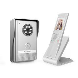 Vezeték Nélküli színes Video Kaputelefon Ck-3049 Fehér