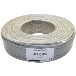 Tömör 4 X 2 X 0 5 Utp Cat 5 Solid Cable 100M Struktúrált Kábel