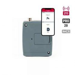 elektromoskapu távvézérlő, mobiltelefon alkalmazással, TELL GSM GATE CONTROL PRO 20