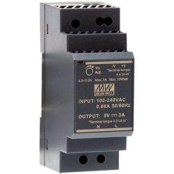 Mean Well HDR-30-5/0-3A Tápegység
