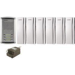 COMMAX DR-6AM + 6 db DP-SS + RF-1A