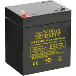 HONNOR 12V 4,5Ah Riasztó akkumulátor