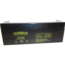 HONNOR 12V 2,2Ah Riasztó akkumulátor