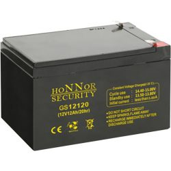 HONNOR 12V 12Ah Riasztó akkumulátor