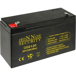 HONNOR 6V 12Ah Riasztó akkumulátor