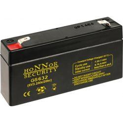 HONNOR 6V 3,2Ah Riasztó akkumulátor
