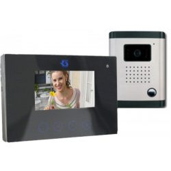 színes videó kaputelefon 9cm LCD kijelzővel DF-629TS+OUT9