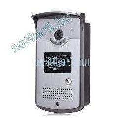 2Vezetékes Szines HD Video Kaputelefon Kültéri Egység Proximity Kártyás Beléptetővel