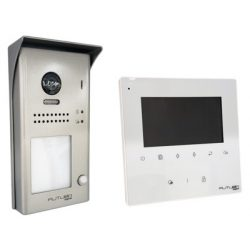 Futura Egylakásos 2 vezetékes digitális videokaputelefon szett 10m5cm képátlójú kijelzővel VDTKIT ECO