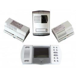Farfisa Video Kaputelefon Szett Fa/Eh9160Plcw