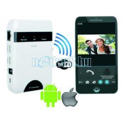 Wifi IP Hálózati Okostelefon Modul 4 Vezetékes Video Kaputelefonokhoz