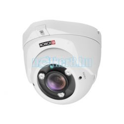 Provision-ISR Ultra AHD/TVI/CVI/Analóg kültéri inframegvilágítós mechanikus Day&Night 5MP dome kamera PR-DI350AUMVF