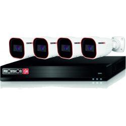 4 csőkamerás AHD 2Mpixeles video rögzítő szett