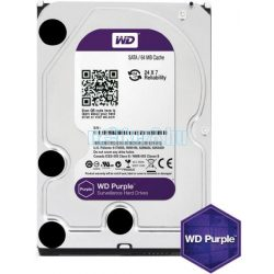 "Western Digital 3,5"" 4000GB belső SATAIII 5400RPM 64MB PURPLE WD40PURZ winchester"
