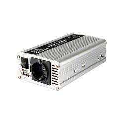 Feszültségátalakító Inverter 500/1000W USB töltőaljzattal SAI-1000USB