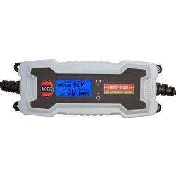 Okos akkumulátortöltő szulfát-mentesítéssel SMC-38