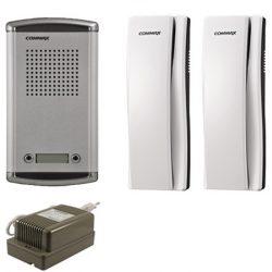 Commax DR-2AM + 2 db DP-SS + RF-1A Audio Kaputelefon Szett
